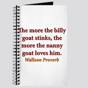 The More The Billy Goat Stinks - Walloon Journal