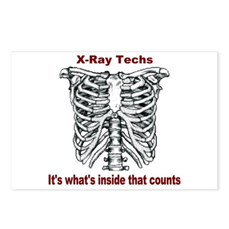 X-Ray Techs Inside Postcards (Package of 8)