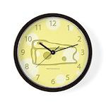 Mighty Cheese Wall Clock