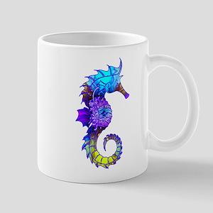 Splashy Seahorse Mugs