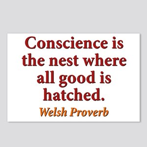 Conscience Is The Nest - Welsh Postcards (Package