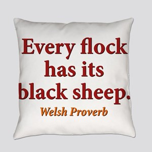 Every Flock Has Its Black Sheep - Welsh Everyday P