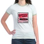 Valentine's Day for Losers Pink Jr. Ringer T-Shirt