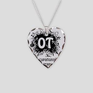 OT Splash Necklace Heart Charm