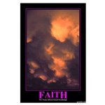 Faith Large Poster