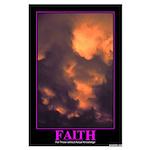 Faith Large Poster
