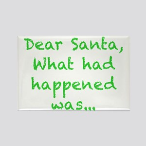 What had happened Santa... Magnets