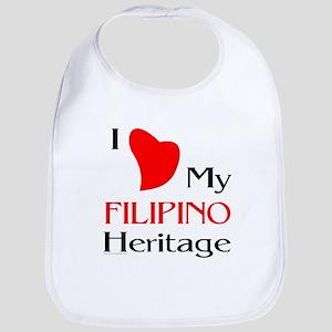 Filipino Heritage Bib