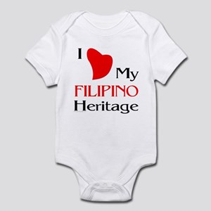 Filipino Heritage Infant Bodysuit