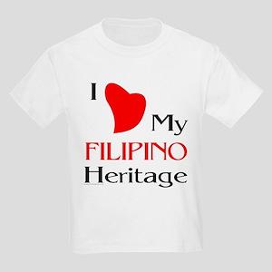 Filipino Heritage Kids T-Shirt