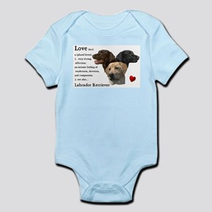 Labrador Retriever Love Infant Bodysuit