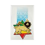 Zion Lion Rectangle Magnet (100 pack)