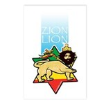 Zion Lion Postcards (Package of 8)