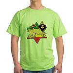 Zion Lion Green T-Shirt