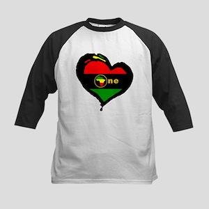 Afro Rasta Kids Baseball Jersey