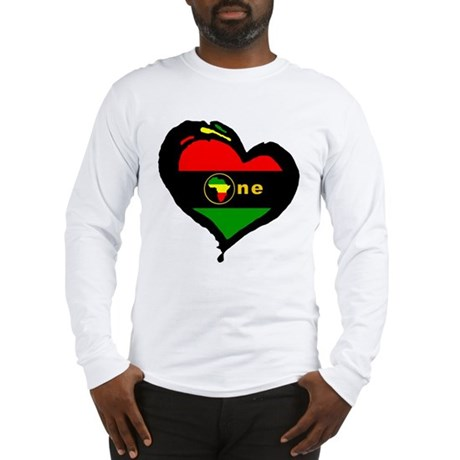 Afro Rasta Long Sleeve T-Shirt