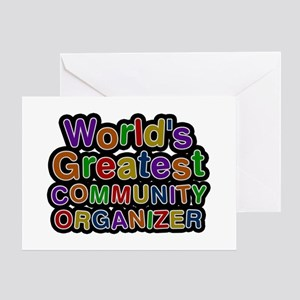 World's Greatest COMMUNITY ORGANIZER Greeting Card