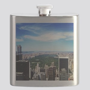 New York, New York Flask