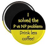 """I solved P vs NP! 2.25"""" Magnet (100 pack)"""