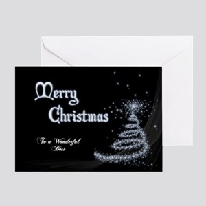 Christmas Card For Boss Greeting Cards