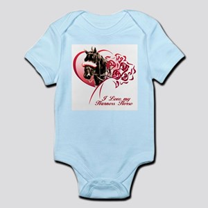 Love my Harness Infant Bodysuit
