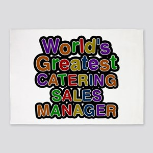 World's Greatest CATERING SALES MANAGER 5'x7' Area