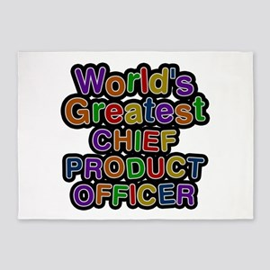 World's Greatest CHIEF PRODUCT OFFICER 5'x7' Area