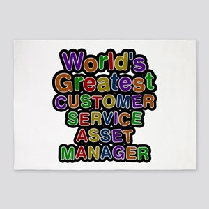 World's Greatest CUSTOMER SERVICE ASSET MANAGER 5'