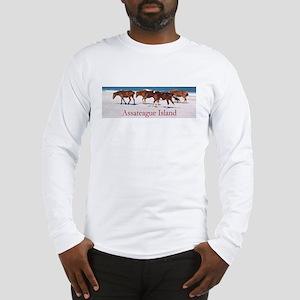 Assateague Ponies Long Sleeve T-Shirt