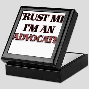 Trust Me, I'm an Advocate Keepsake Box