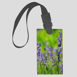 Lavender Large Luggage Tag