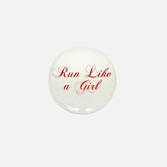 run-like-a-girl-cho-red Mini Button