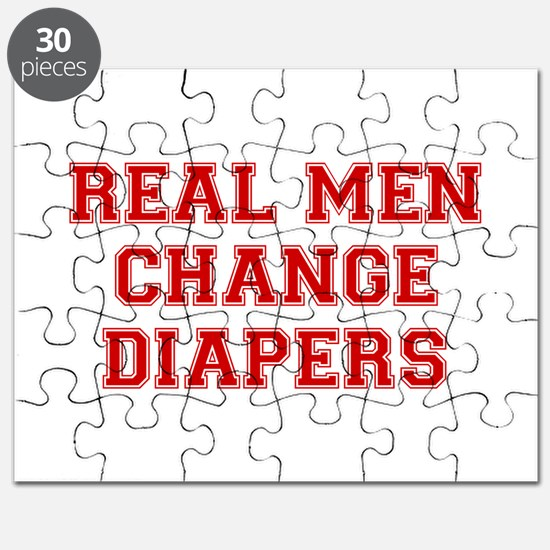 real-men-diapers-VAR-RED Puzzle
