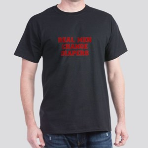 real-men-diapers-VAR-RED T-Shirt