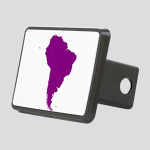Continent of South America Hitch Cover
