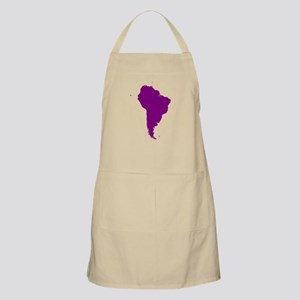 Continent of South America Apron