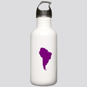Continent of South America Water Bottle