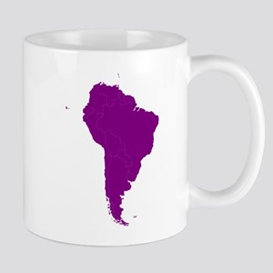 Continent of South America Mugs
