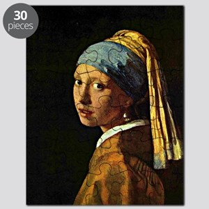 The Girl with a Pearl Earring, painting by  Puzzle