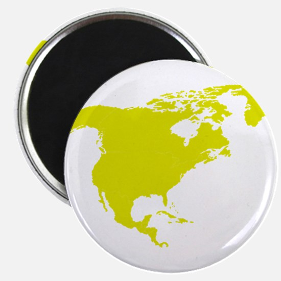 Continent of North America Magnets