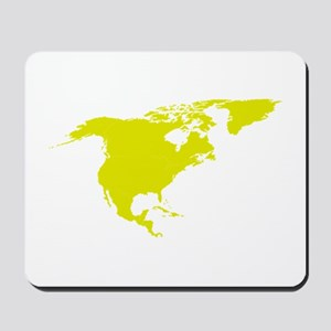 Continent of North America Mousepad