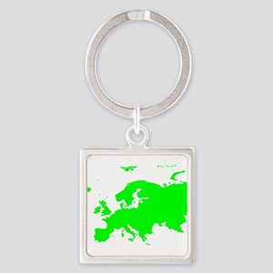 Continent of Europe Keychains