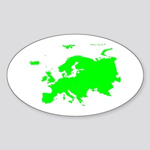 Continent of Europe Sticker