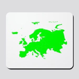 Continent of Europe Mousepad