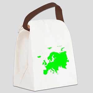Continent of Europe Canvas Lunch Bag
