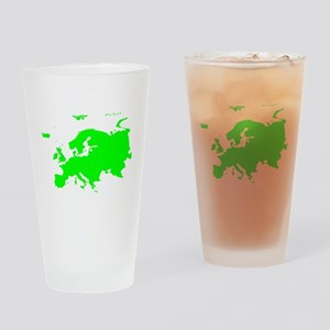 Continent of Europe Drinking Glass