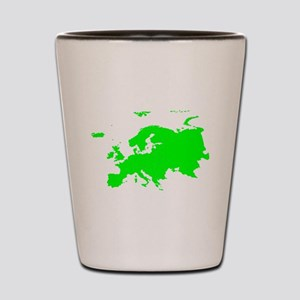 Continent of Europe Shot Glass