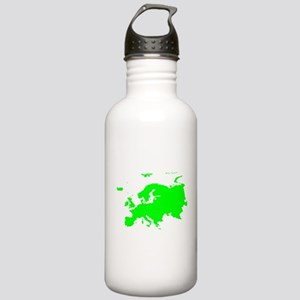 Continent of Europe Water Bottle