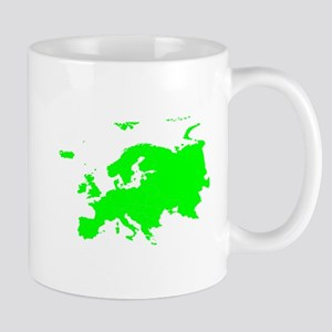 Continent of Europe Mugs