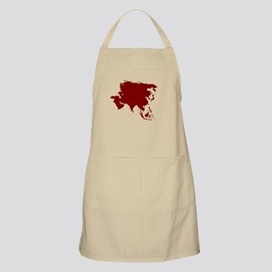 Continent of Asia Apron